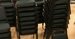 Cloth Chairs Cleaned at Church